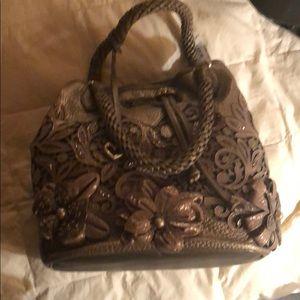 Brighton Bags - Brighton pearl handbag with cover